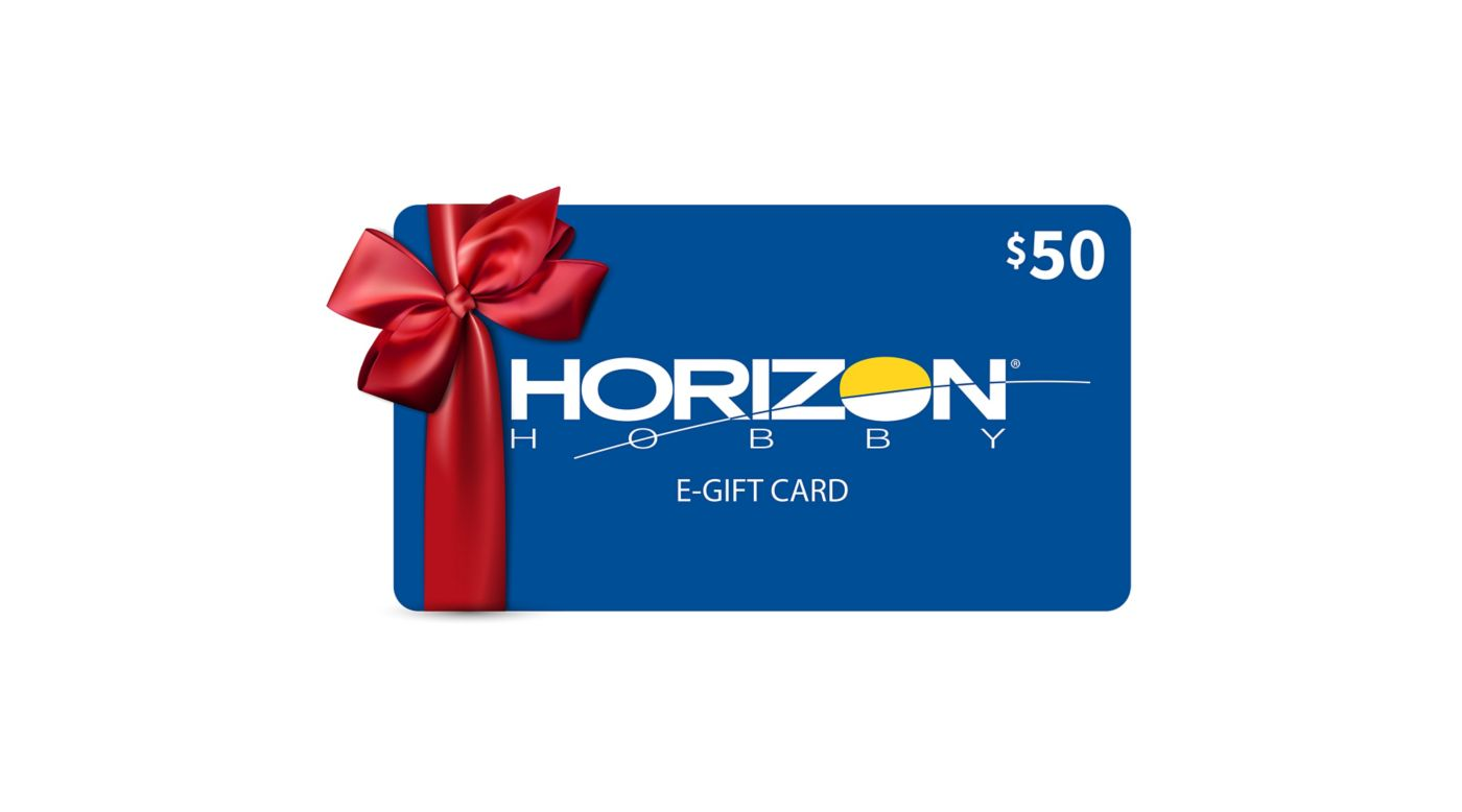 Image for $50 eGift Card from HorizonHobby