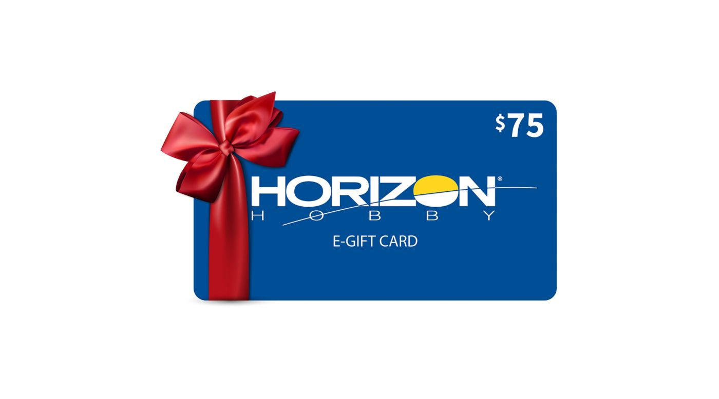 Image for $75 eGift Card from HorizonHobby