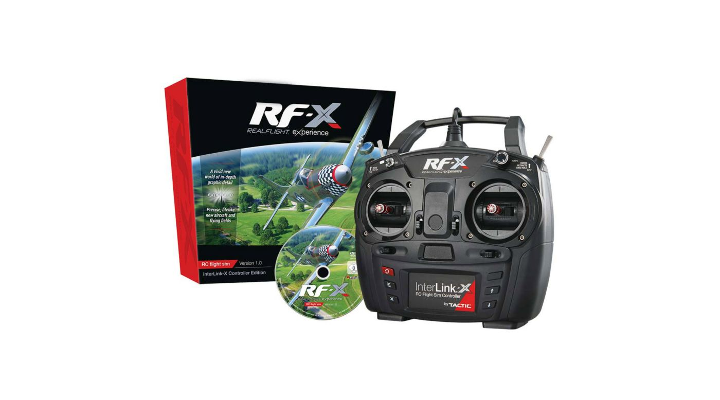 Image for RF-X with InterLink-X from HorizonHobby