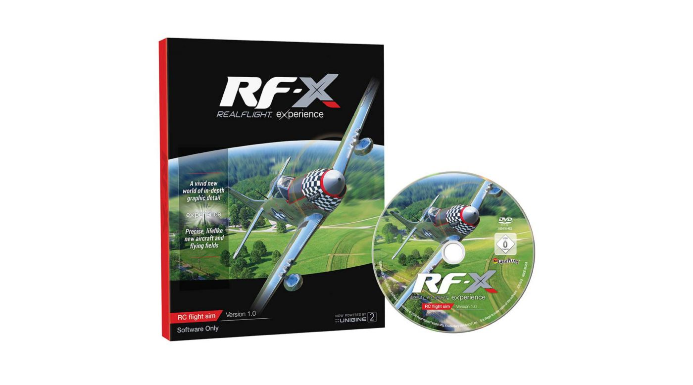 Image for RF-X Software Only from HorizonHobby