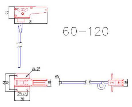 60 - 120 90-Degree Main Electric Retracts | HorizonHobby