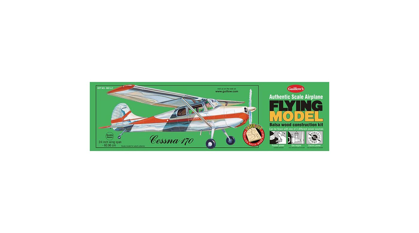 Image for Cessna 170 Laser Cut Kit from HorizonHobby