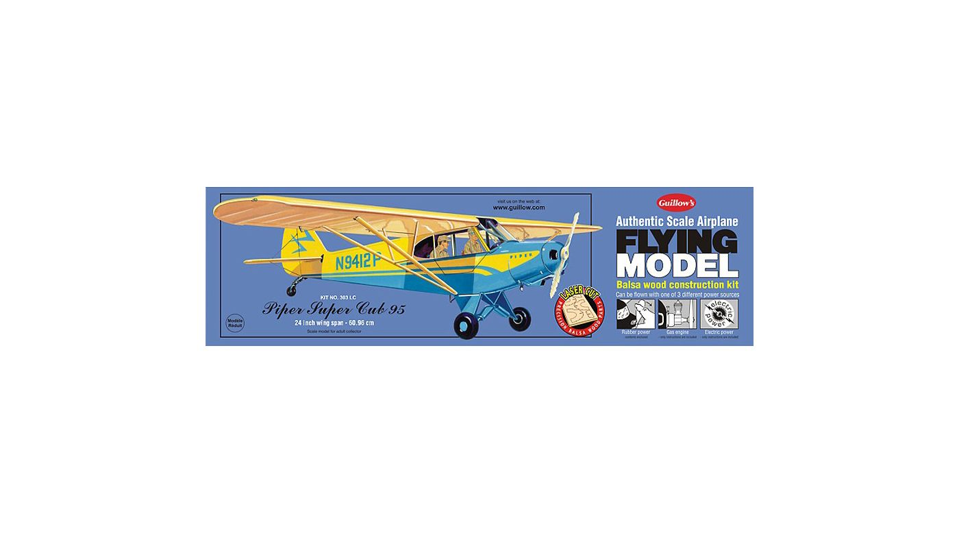 Image for Piper Cub 95 Laser Cut from HorizonHobby