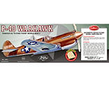 Guillow - Curtiss P-40 Warhawk Laser Cut, 28