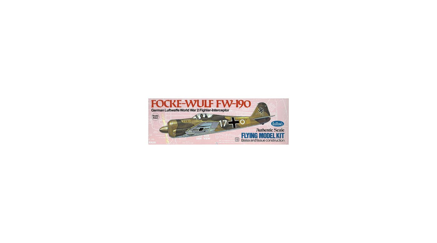 Image for Focke-Wulf 190 from HorizonHobby