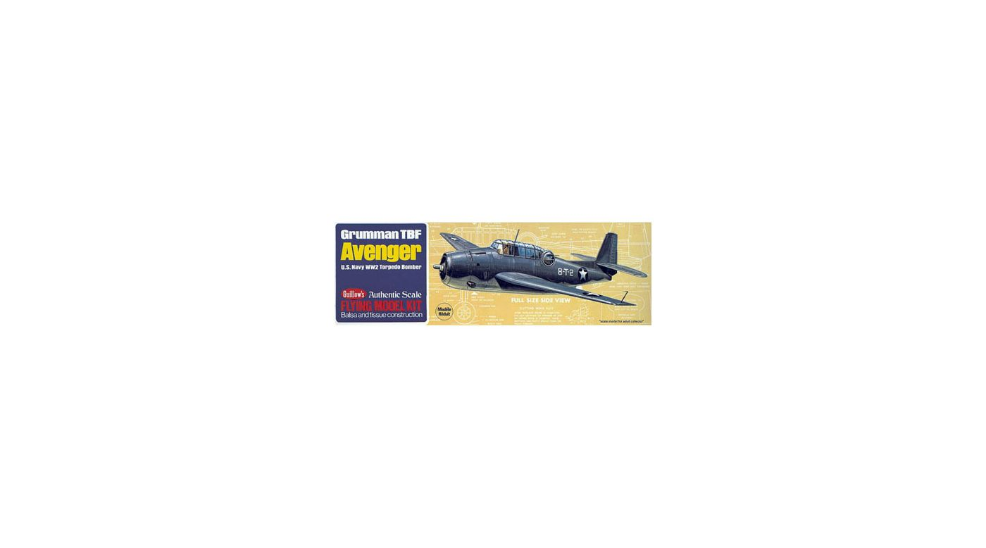 Image for Grumman TBF Avenger from HorizonHobby