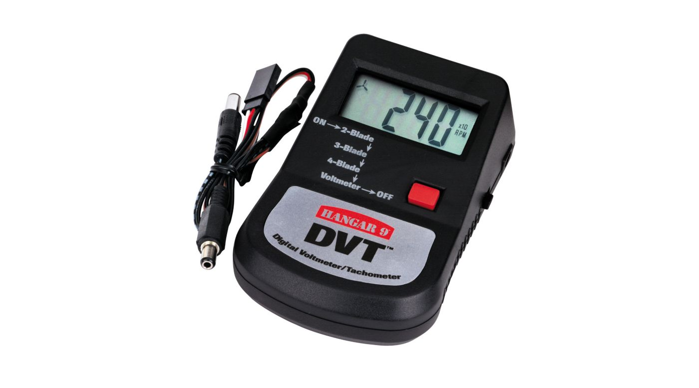 Image for DVT Digital Voltmeter/Tachometer from HorizonHobby