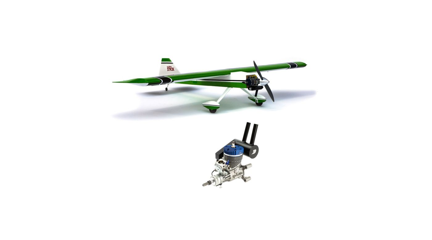 Image for Ultra Stick Combo with Evolution 33GX Gas Engine from Horizon Hobby