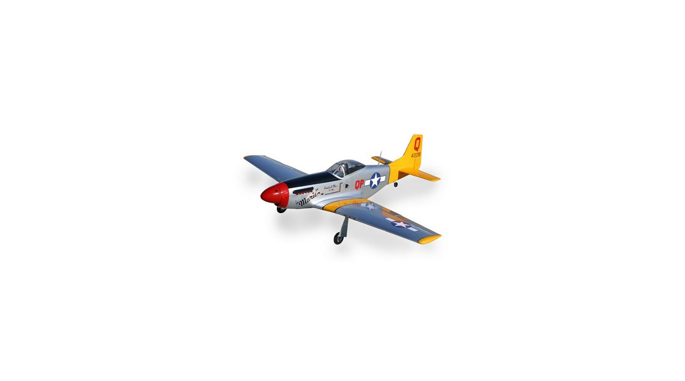 Image for P-51 Mustang 1.50 w/Retracts ARF from HorizonHobby