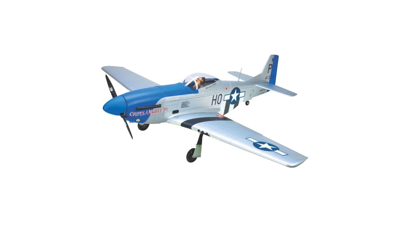 Hangar 9 P 51d Blue Nose 60 Arf Airplane Horizon Hobby Need A Wiring Diagram Mustang Evolution Image For From Horizonhobby
