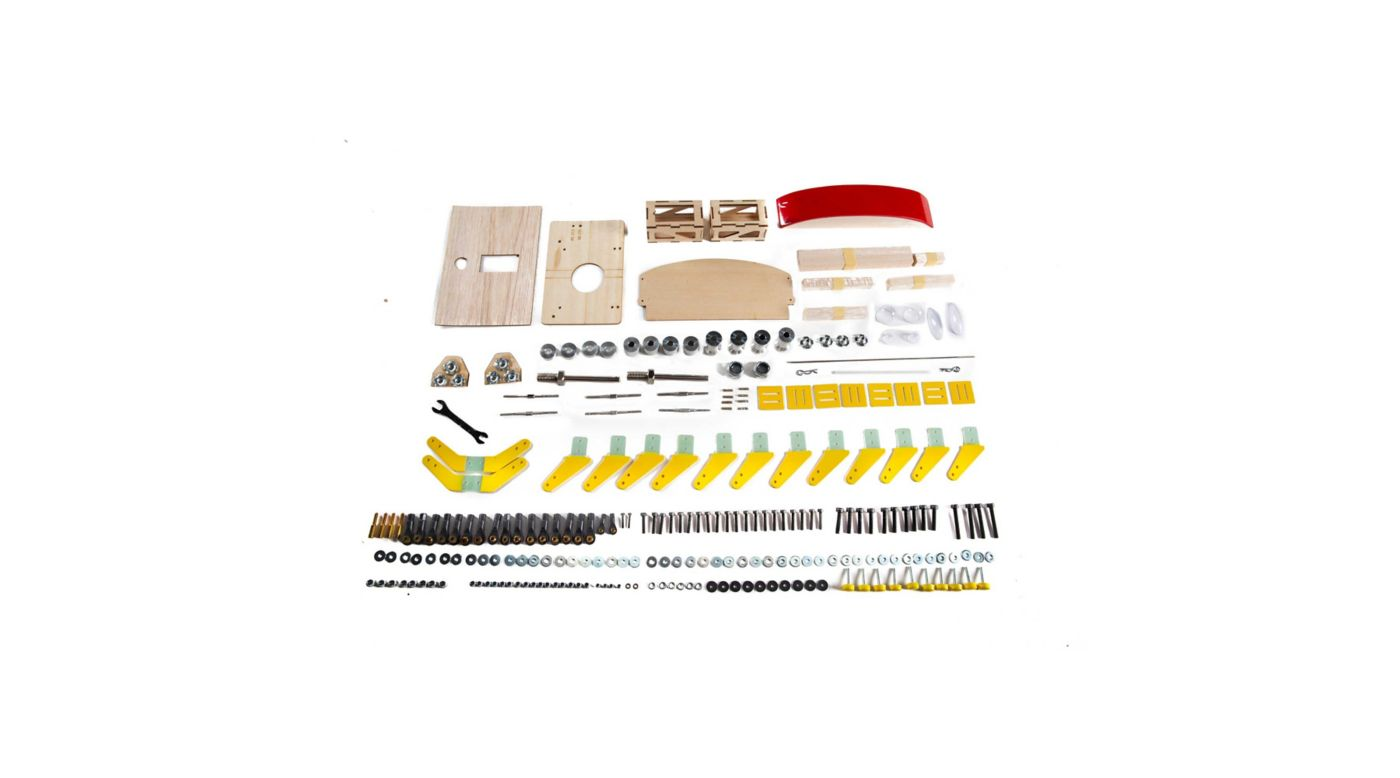 Image for Hardware Pack: Timber 110 30-50cc from HorizonHobby