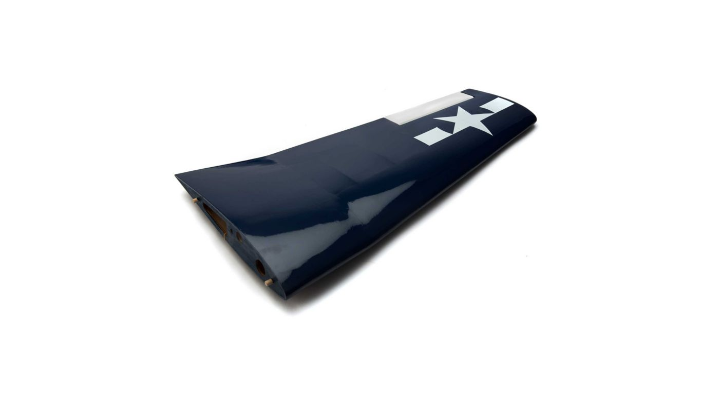 Image for LH Wing with Aileron: F6F Hellcat 15cc from HorizonHobby