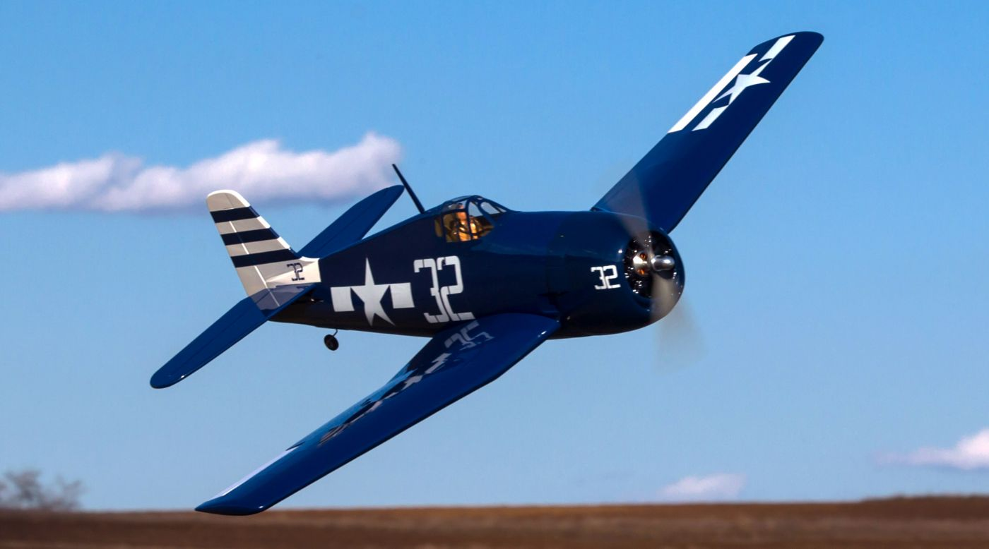 Image for F6F Hellcat 15cc ARF from HorizonHobby