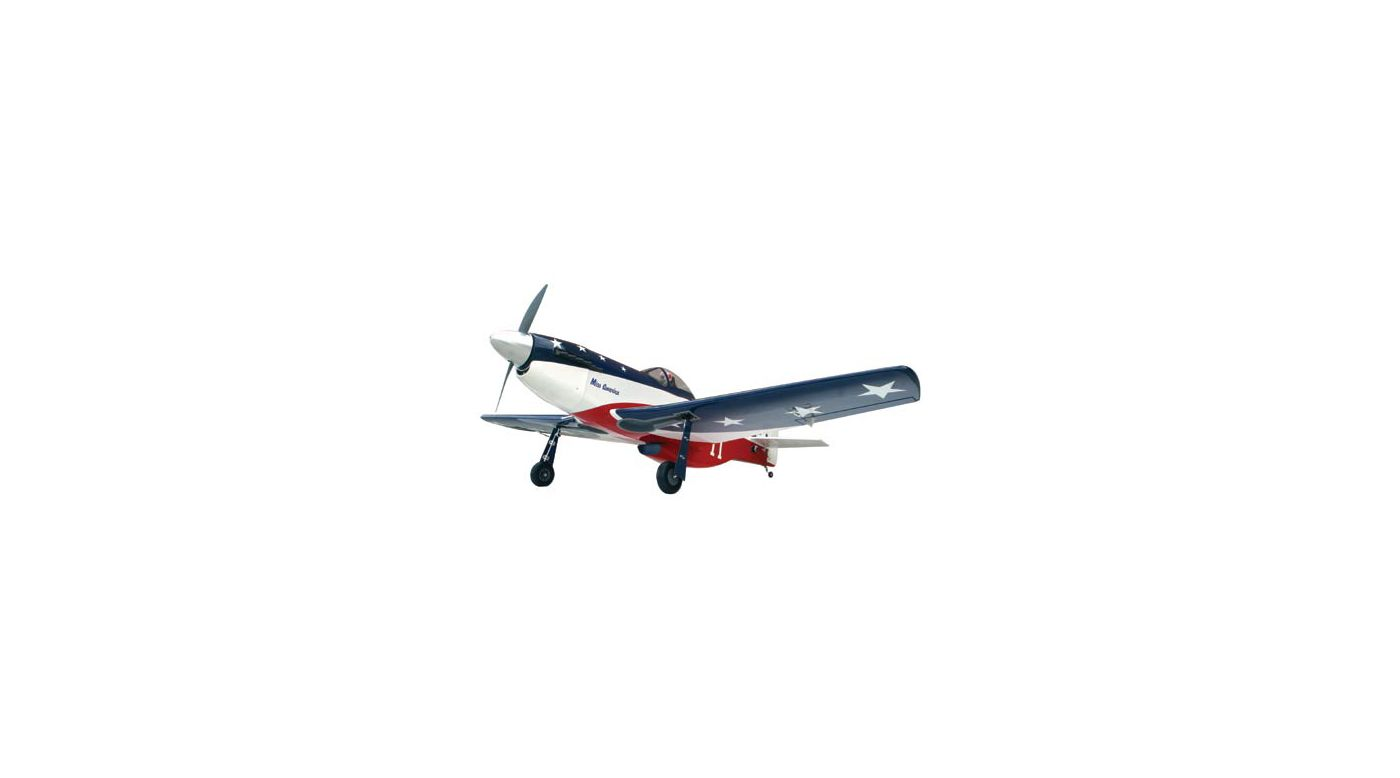Image for P-51D Miss America 60 ARF from HorizonHobby