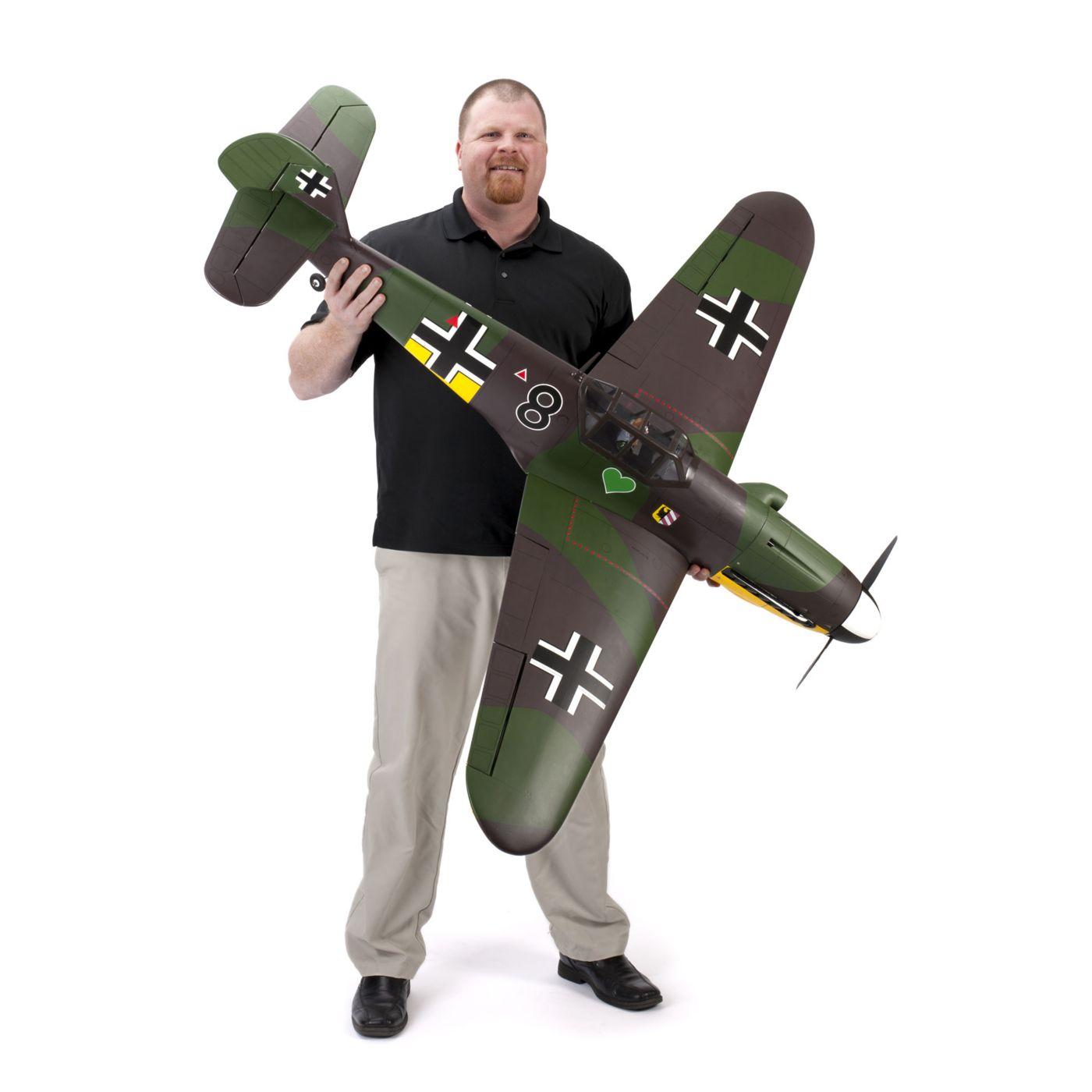 New HAN278518 Hangar 9 Accessories Messerschmitt BF 109F-2 60 EP Mount Set