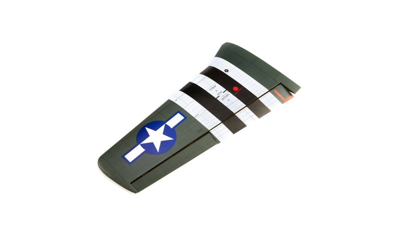 Image for LH Wing with Aileron & Flap: P-51D Mustang 20cc from HorizonHobby