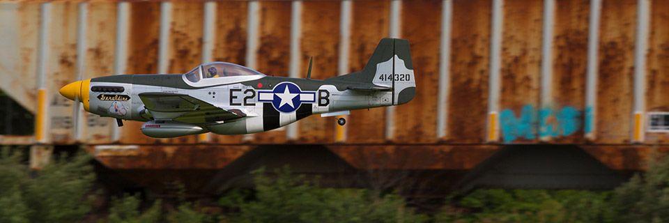 Hangar 9 P-51D Mustang 20cc ARF