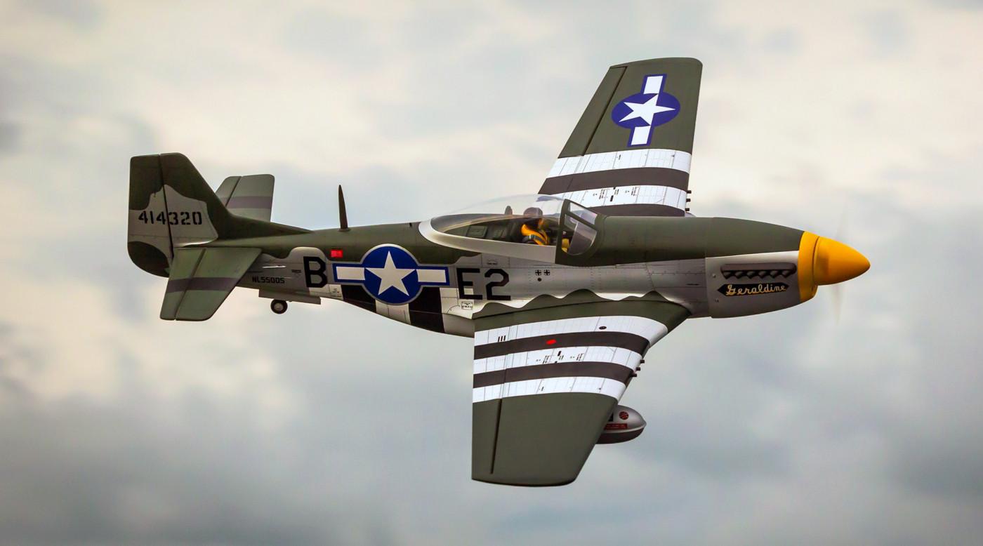 Hangar 9 P-51D Mustang 20cc ARF Warbird
