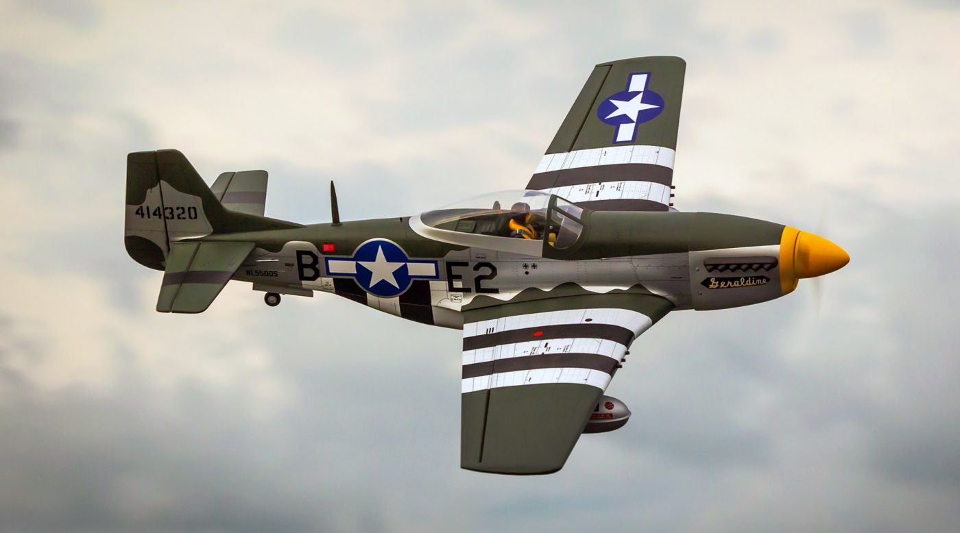 Image for P-51D Mustang 20cc ARF, 69.5