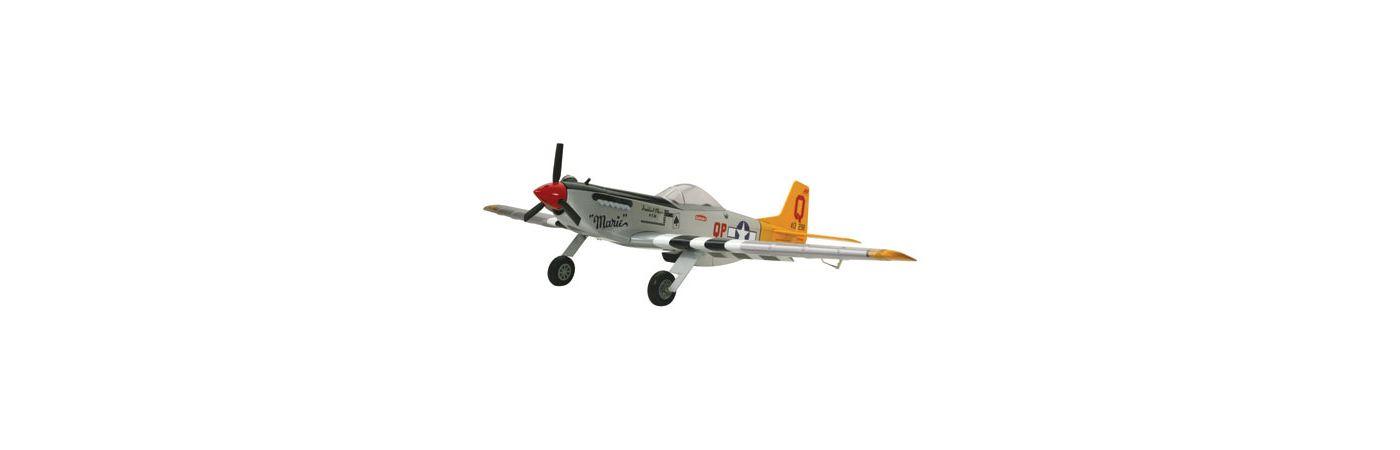 P 51 Mustang Pts Arf Horizonhobby