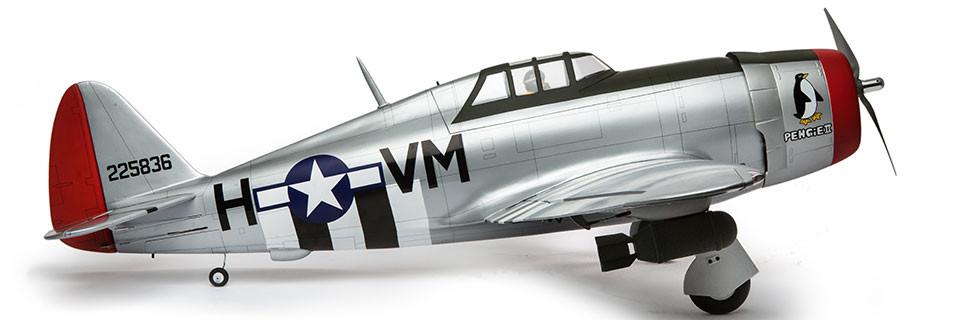 Hangar 9 P-47D Thunderbolt 20cc ARF