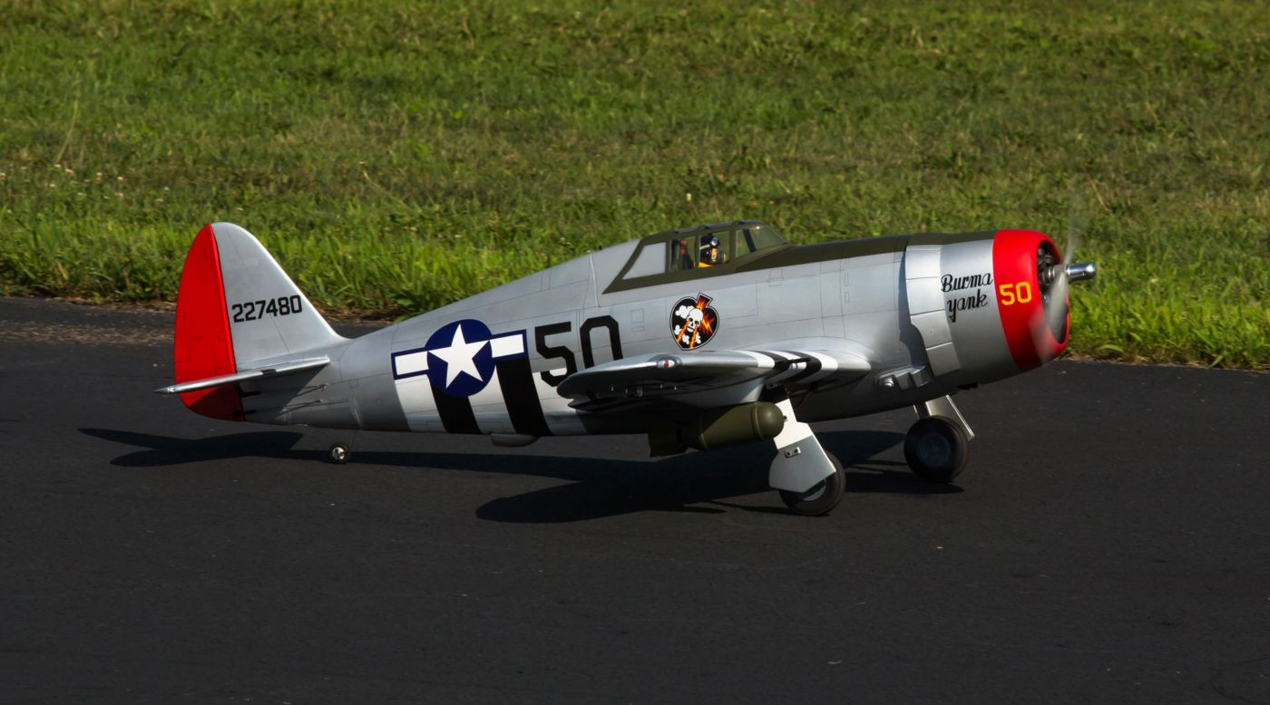 Image for P-47D Thunderbolt 20cc ARF, 67