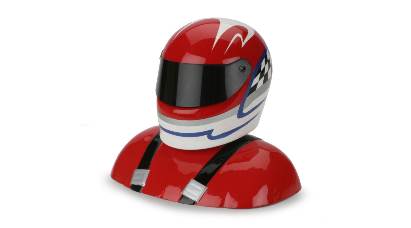 Image for 25-28% Painted Pilot Helmet Red/White/Blue from HorizonHobby