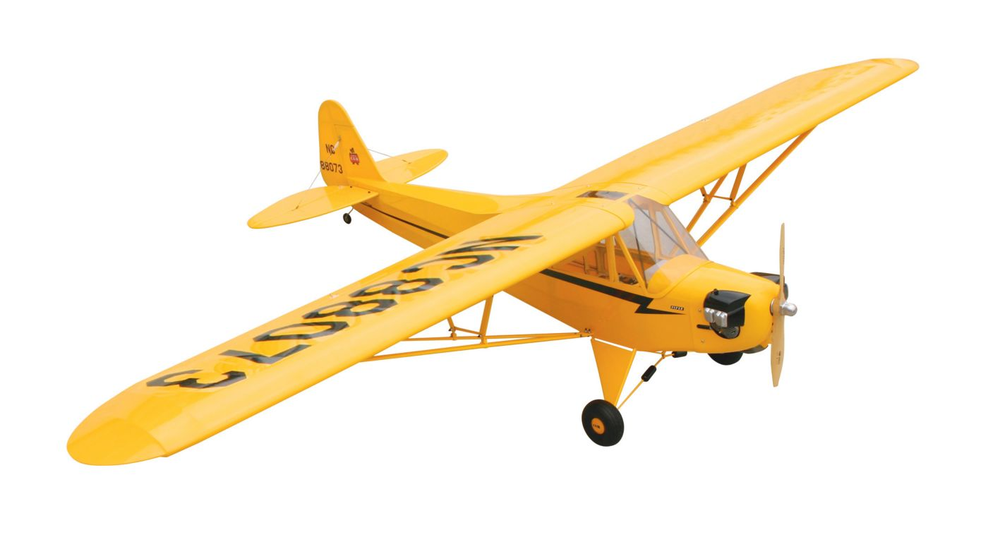 hangar 9 piper j 3 cub 40 arf airplane horizon hobby. Black Bedroom Furniture Sets. Home Design Ideas