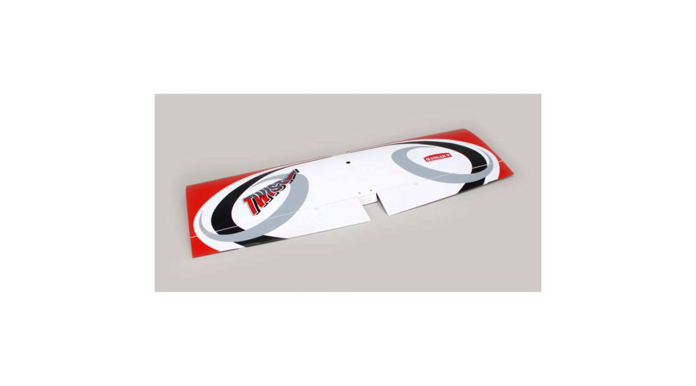 Image for Twist 60 (True Red) Wing Set w/ailerons from HorizonHobby