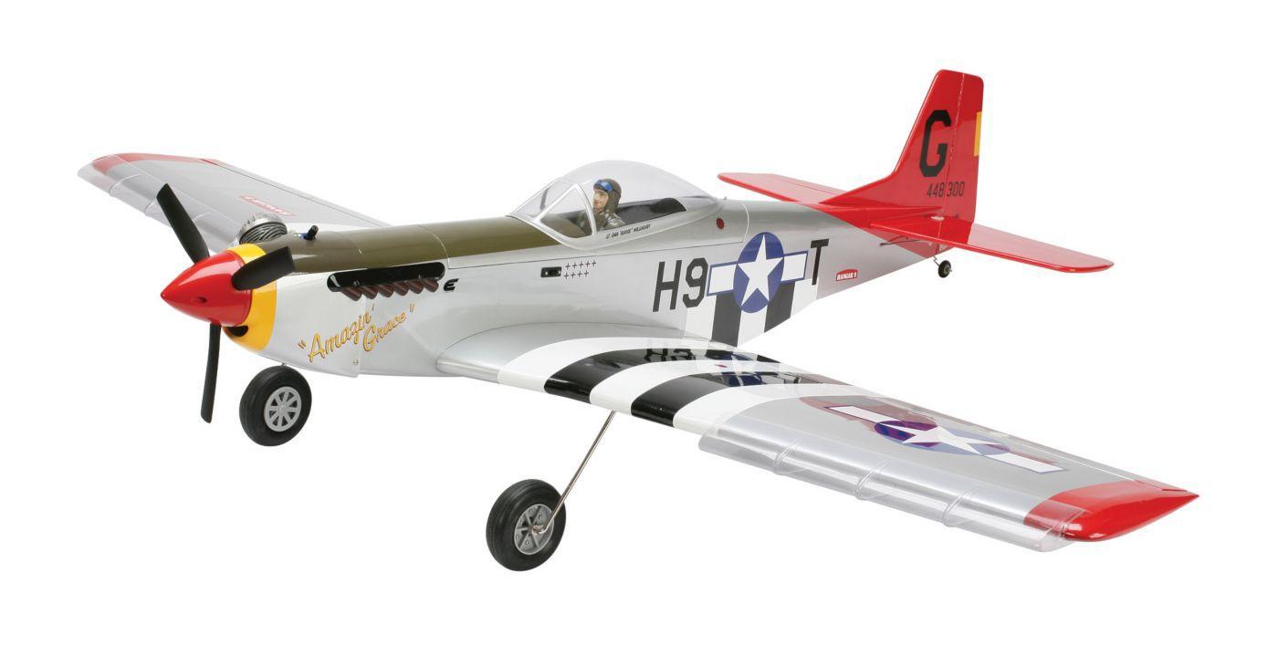 P 51 Mustang Mkii Pts Rtf Horizon Hobby