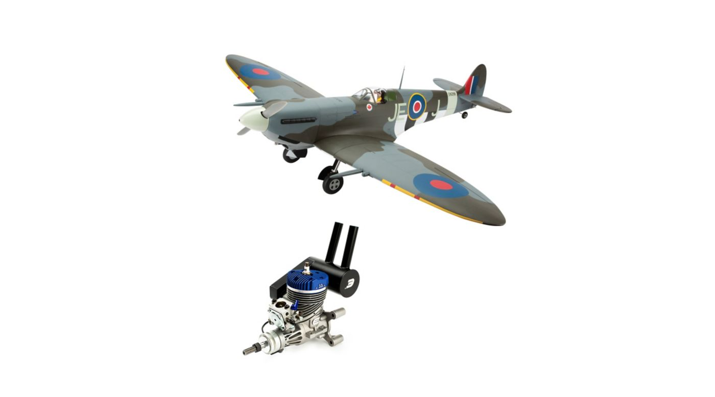 Image for Spitfire Mk IXc 30cc ARF with Evolution 33GX Gas Engine from HorizonHobby