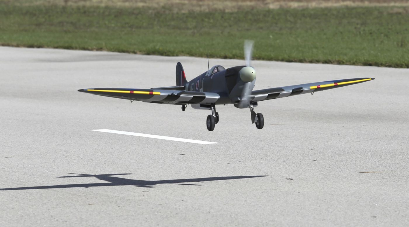 Hangar 9 Spitfire Mk IXc 30cc ARF Airplane | Horizon Hobby