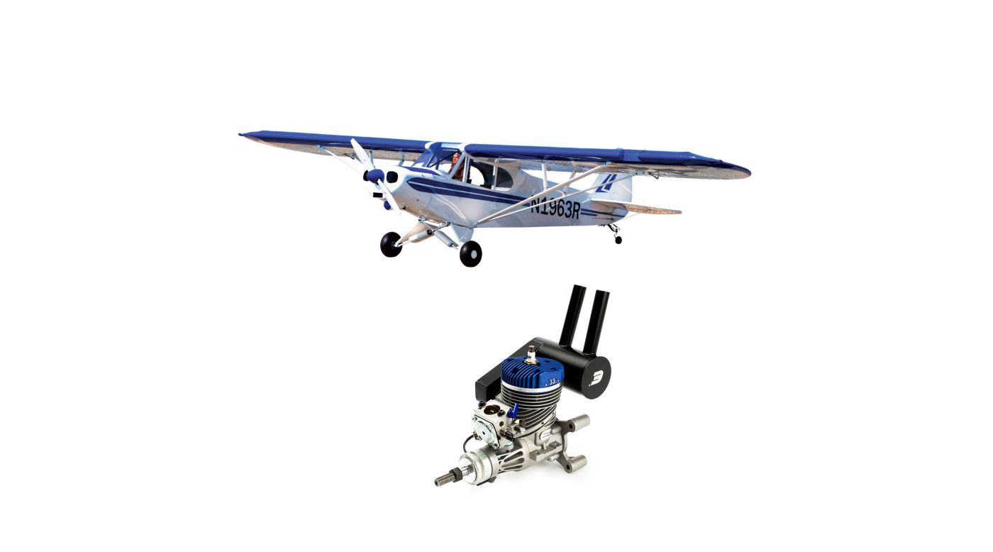 Image for 1/4 Scale Super Cub ARF with Evolution 33GX Gas Engine from HorizonHobby