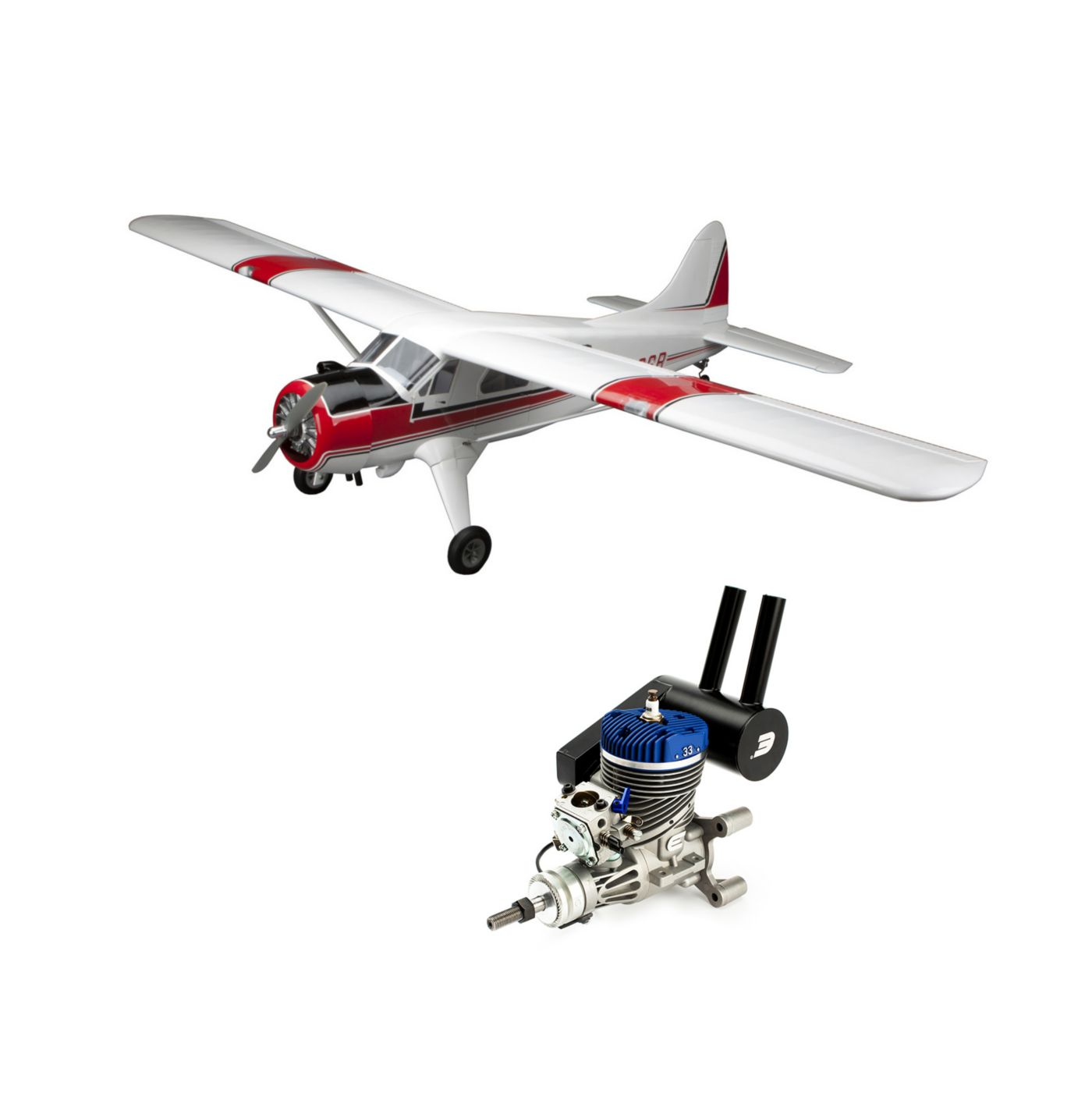 DHC-2 Beaver 30cc ARF with Evolution 33GX Gas Engine  (HAN4545CE)