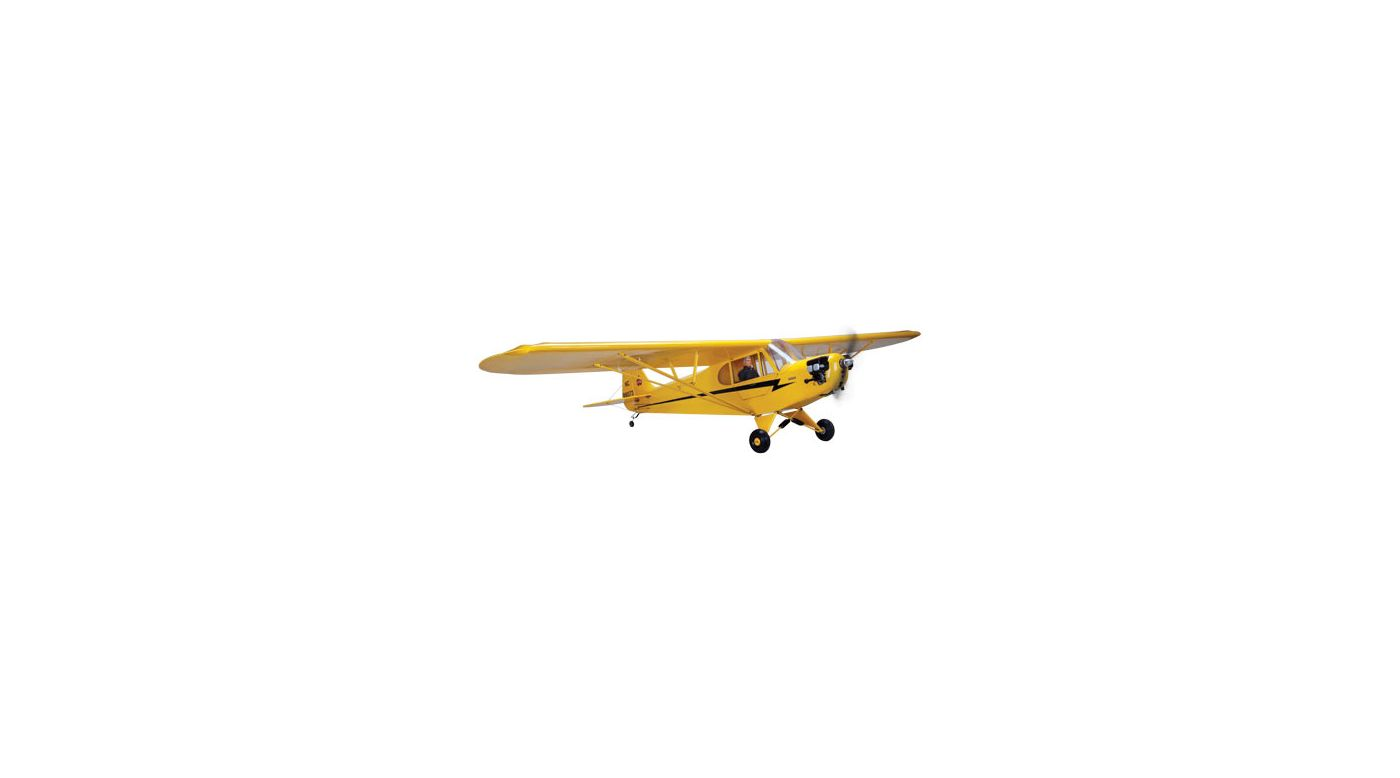 Image for 1/4-Scale J-3 Piper Cub PNP (2 boxes) from HorizonHobby