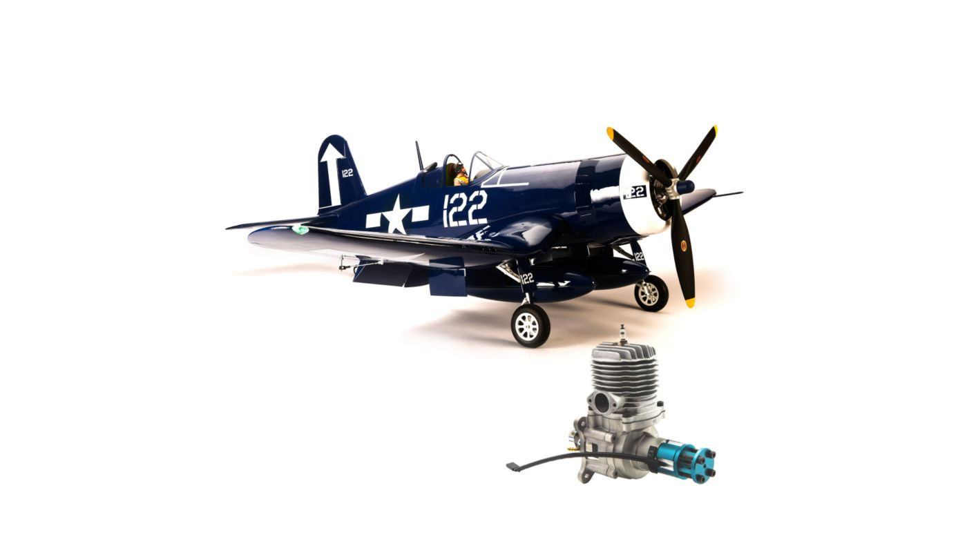 Image for F4U-1D Corsair 60cc ARF with Evolution 62GX Gas Engine from HorizonHobby