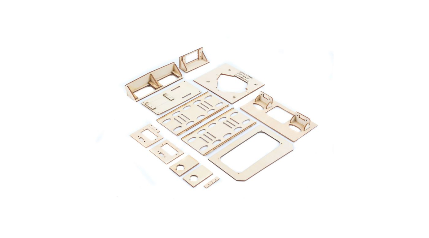 Image for Wood Parts: P-51D 60cc from HorizonHobby