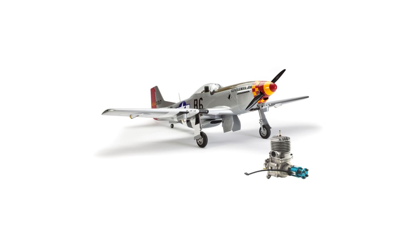 Image for P-51D Mustang 60cc ARF with Evolution 62GX Gas Engine from HorizonHobby