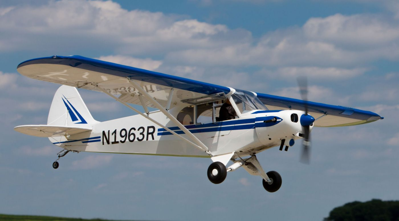 Image for 1/4 Scale PA-18 Super Cub PNP 106