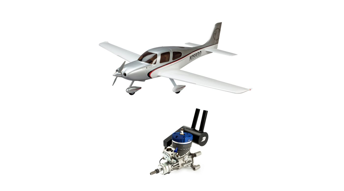 Image for Cirrus SR22T 30cc ARF with Evolution 33GX Gas Engine from HorizonHobby