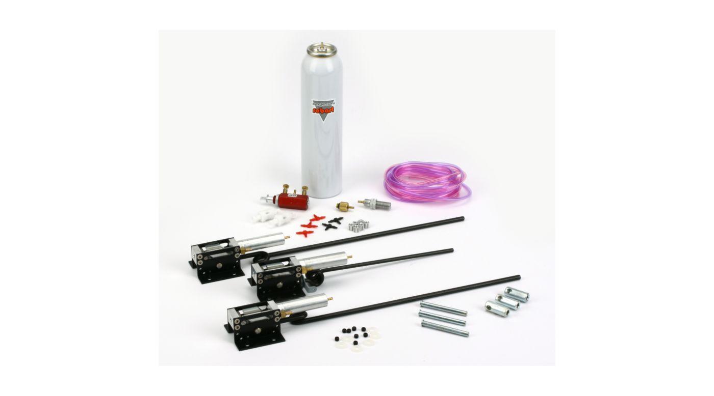 Robart Progressive Pneumatic Tri-Gear with Air Kit