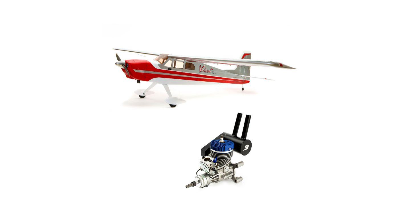 Image for Valiant 30cc ARF with Evolution 33GX Gas Engine from HorizonHobby