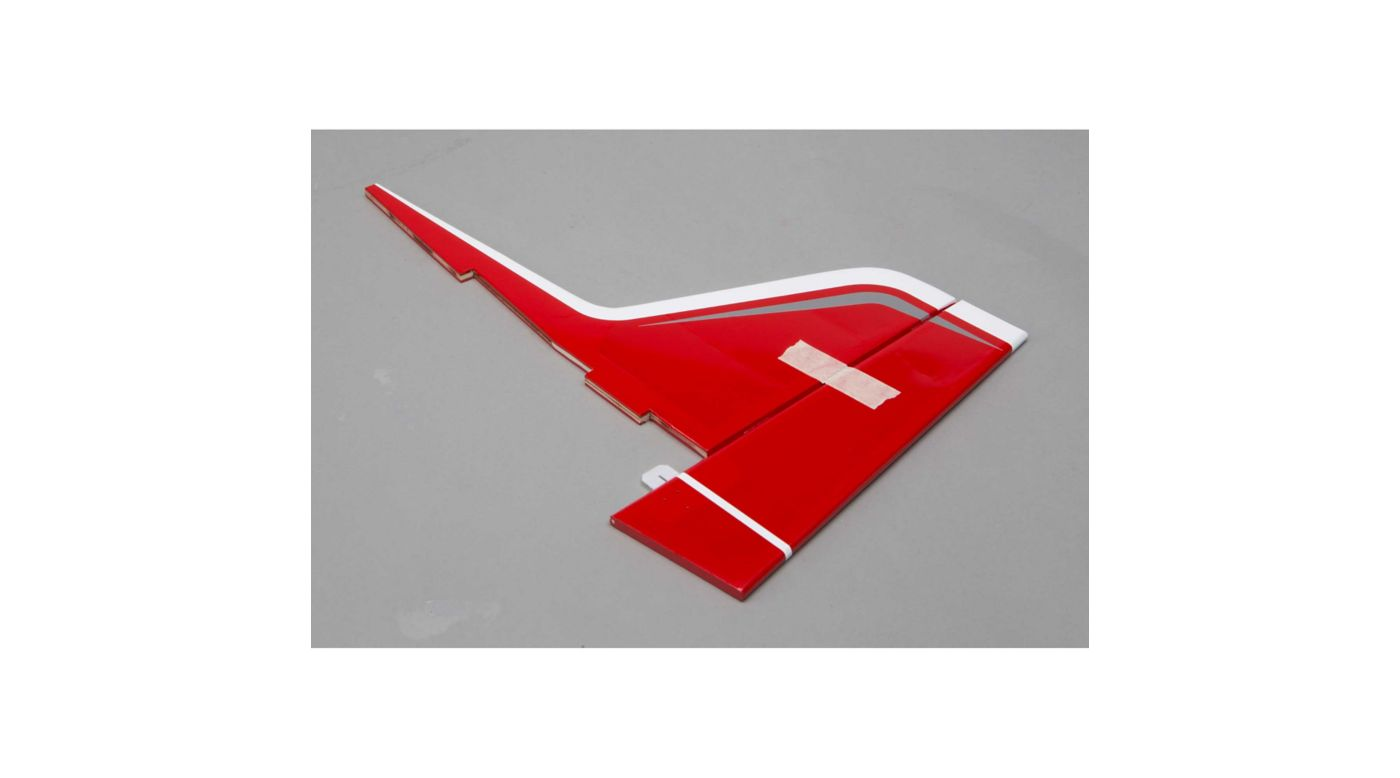 Image for Fin with Rudder: Valiant 10cc from HorizonHobby