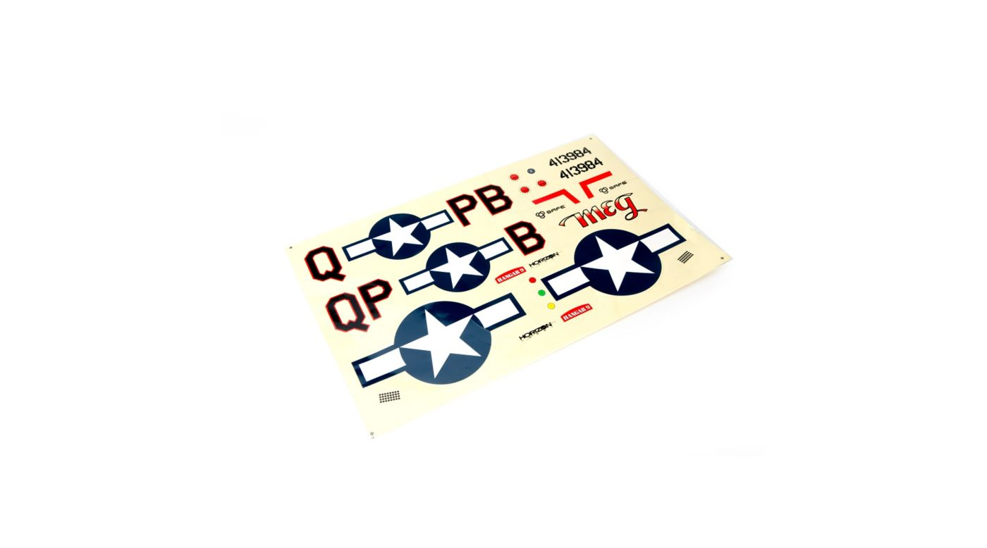 Image for Decal Set: P-51 8cc from HorizonHobby