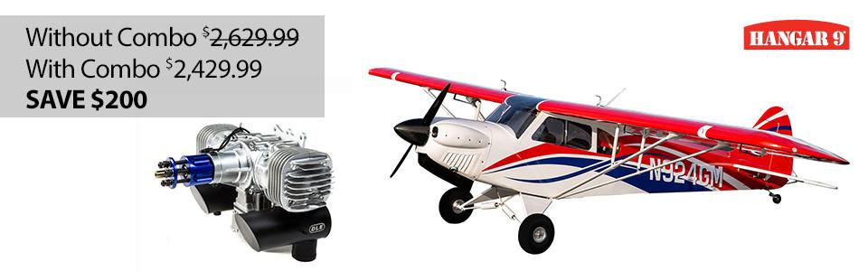 Hangar 9 CubCrafters Carbon Cub FX-3 100-200cc