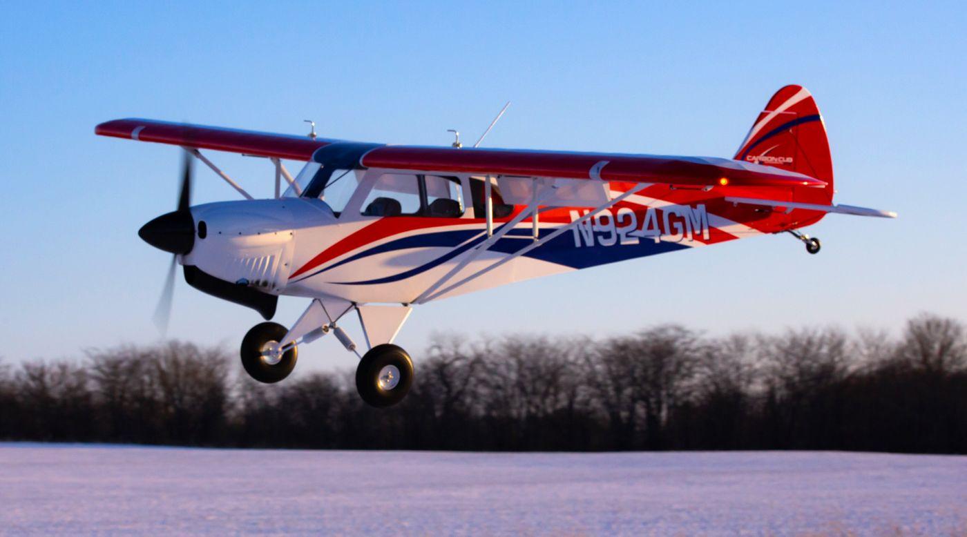 Image pour Carbon Cub FX-3 100-200cc ARF, 165