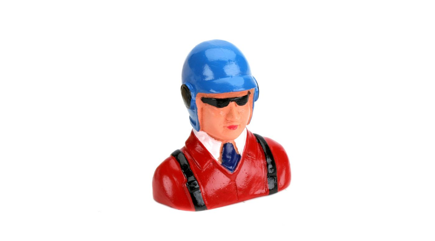 Image for 1/9  Pilot, with Helmet, Glasses & Tie from HorizonHobby