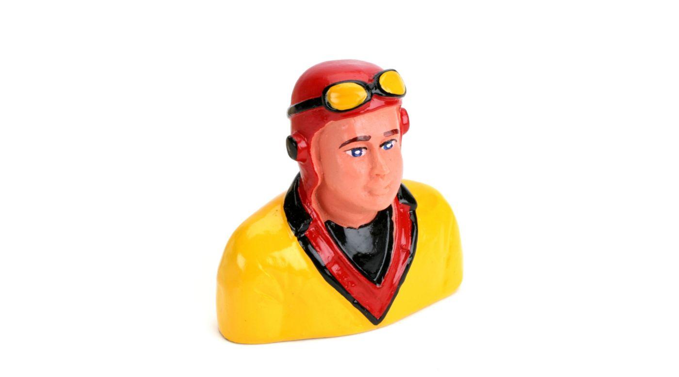 Image for 1/9  Pilot, 'Hank' with Helmet & Goggles from HorizonHobby