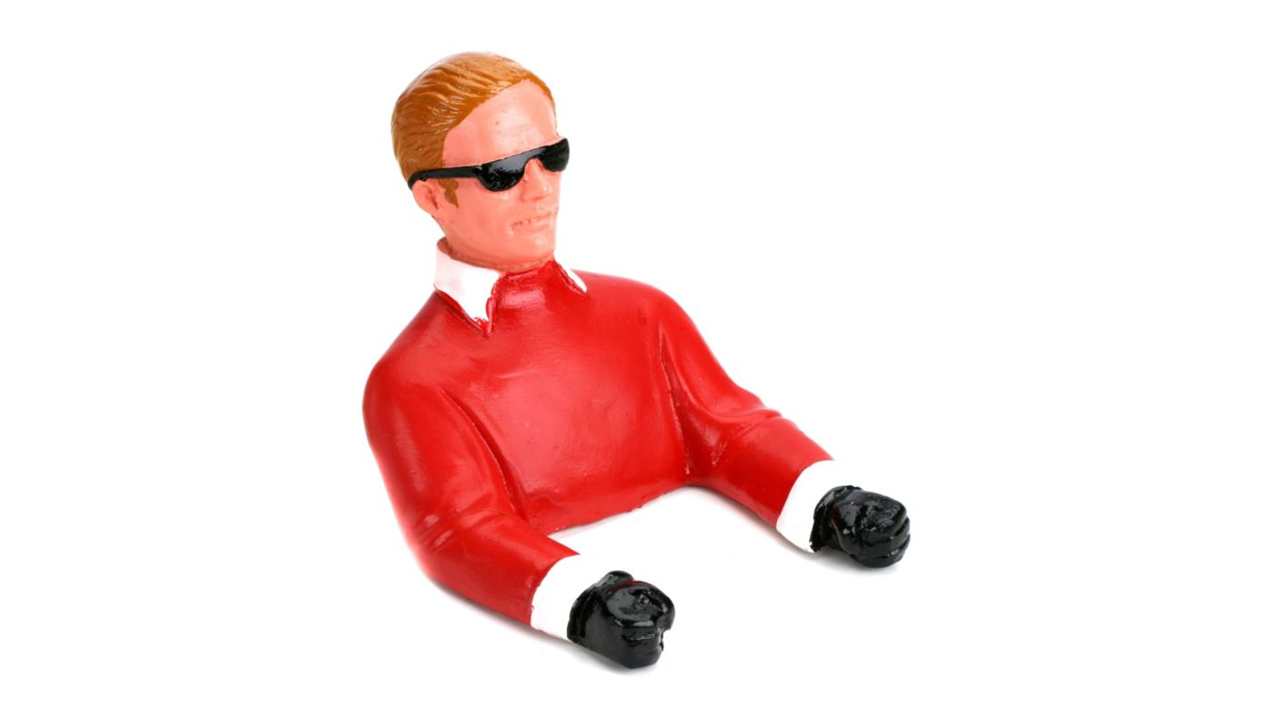 Image for 1/9  Pilot with Sunglasses (Red) with Arms from HorizonHobby