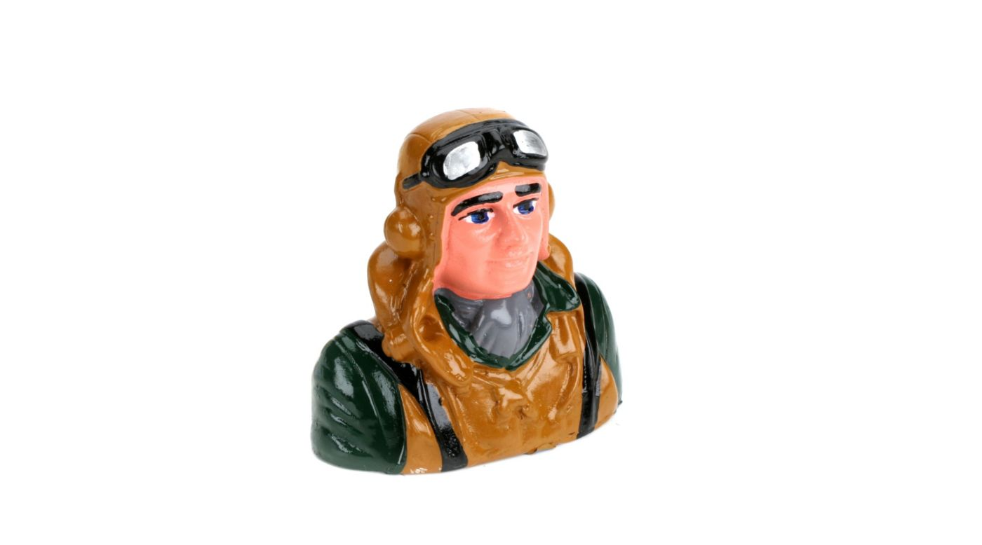 Image for 1/9  Pilot, Military with Vest Helmet And Goggles from HorizonHobby